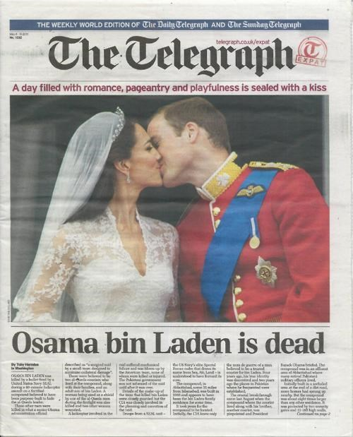 Osama Bin Laden,royal wedding,This x That