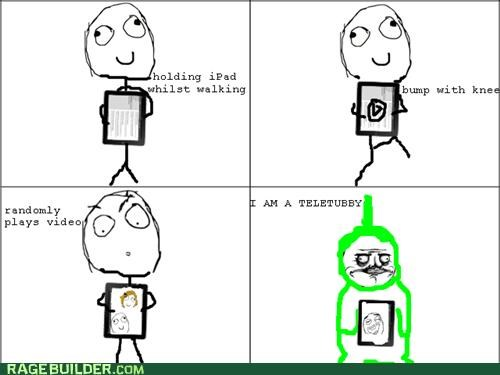 ipad me gusta Rage Comics screen teletubby television - 4733383936