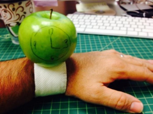 lego apple watch apple II DIY homemade apple craft