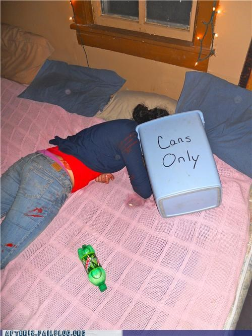 cans passed out vomit - 4733512192