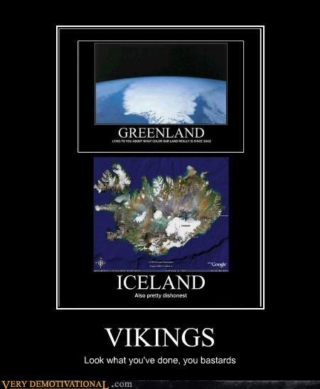 greenland Iceland jerks liars vikings - 4733905152