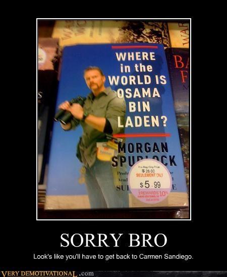 carmen sandiego hilarious morgan spurlock osama - 4734415872