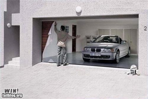 cars garage trickery wallpaper - 4735060736