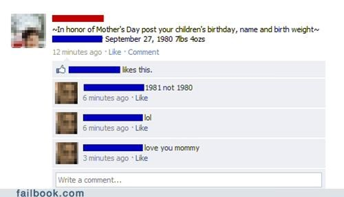 birthdays Mother Of The Year parenting