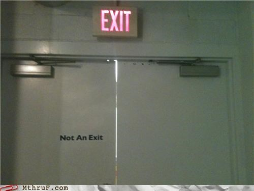door,exit,not an exit