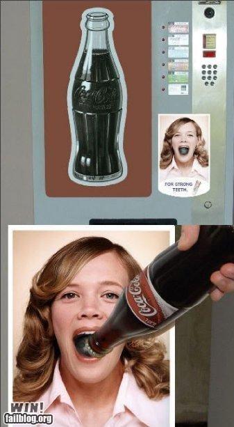 bottle opener coke innuendo vending machine - 4735987456
