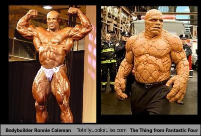 bodybuilders Fantastic Four movies ronnie coleman The Thing