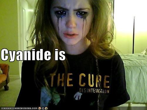 band,cure,cyanide,makeup,Sad,T.Shirt,weird kid