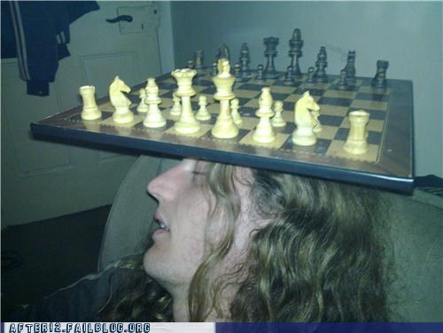 awesome chess game passed out
