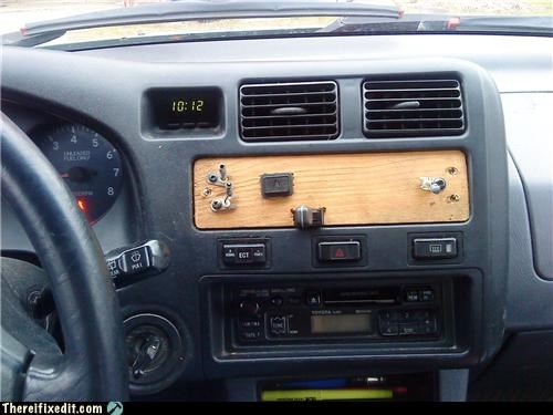 cars dashboard radio stereo woody - 4737406208