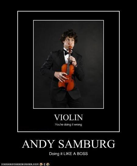 ANDY SAMBURG Doing it LIKE A BOSS