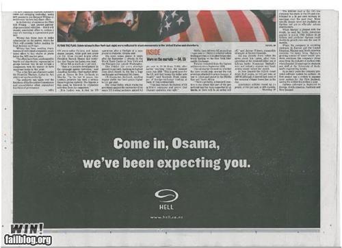 ads hell newspaper osama pizza - 4738211328