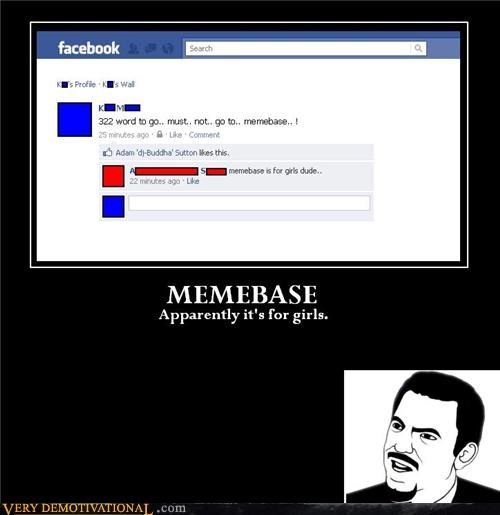 facebook,for girls,hilarious,memebase