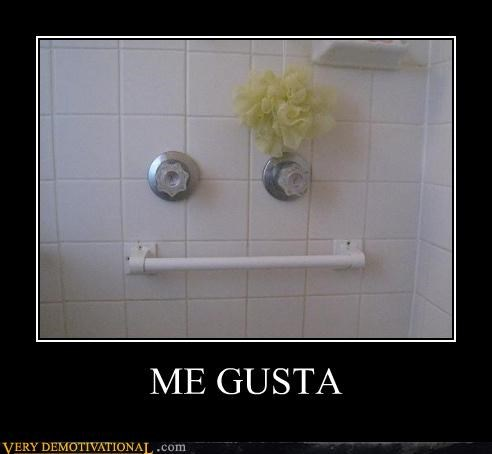 bathroom hilarious me gusta shower - 4738543104
