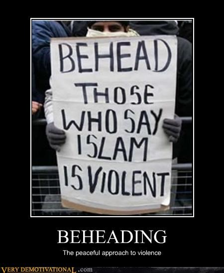 beheading hilarious islam violence - 4738641152