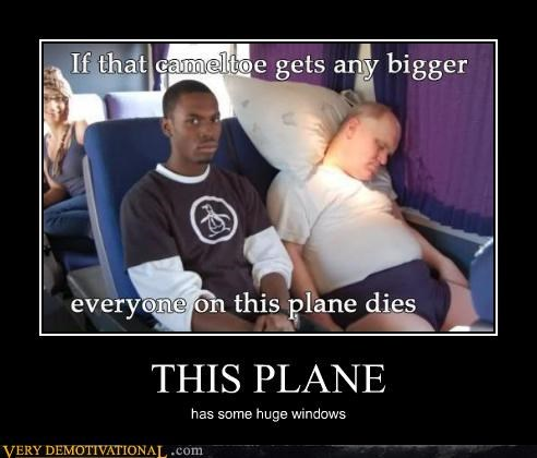 hilarious plane windows wtf