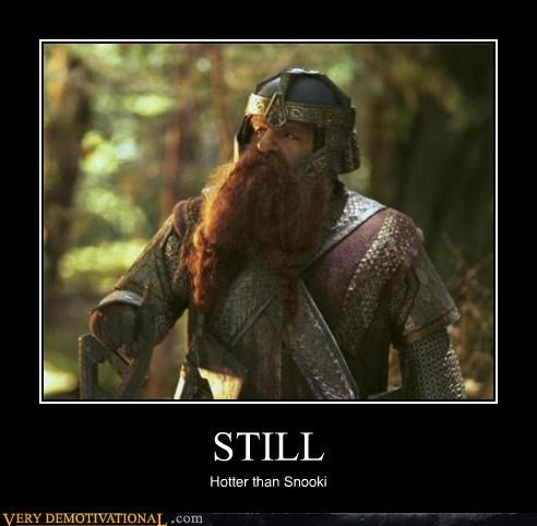 beard eww hilarious Lord of the Rings Snookie