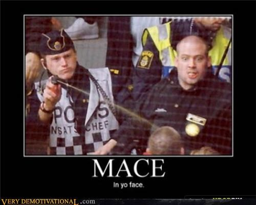 angry face hilarious mace police - 4739182336