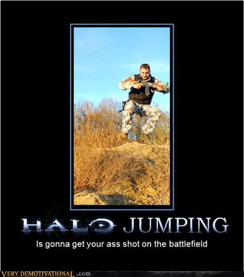 halo hilarious jumping shot war