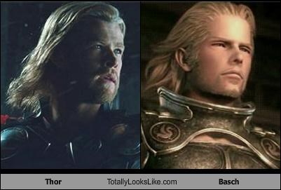 basch chris hemsworth final fantasy Thor video games