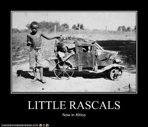 LITTLE RASCALS Now in Africa