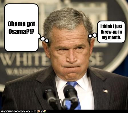 george w bush Osama Bin Laden political pictures - 4740919552