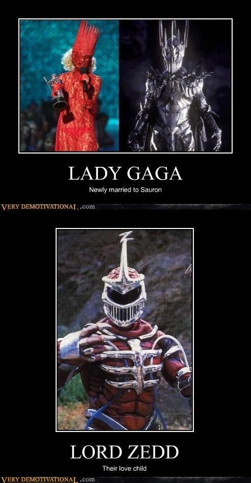gaga hilarious love child sauron zedd