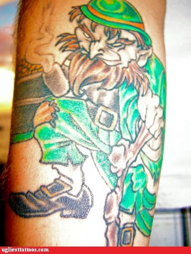 drawing tattoos leprechauns funny - 4741356032