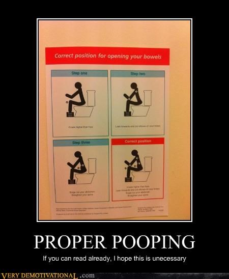 hilarious instructions pooping sign - 4741727744