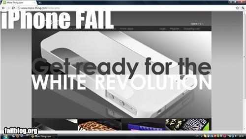 Ad,apple,campaign,failboat,g rated,iphone,mobile phone,phrase,racism,technology