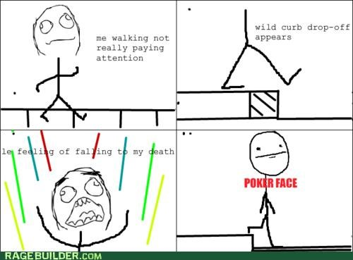 Death falling freefalling poker face Rage Comics step - 4742823424