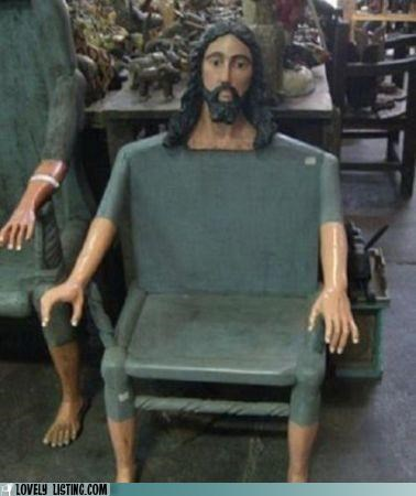 chair,creepy,furniture,jesus