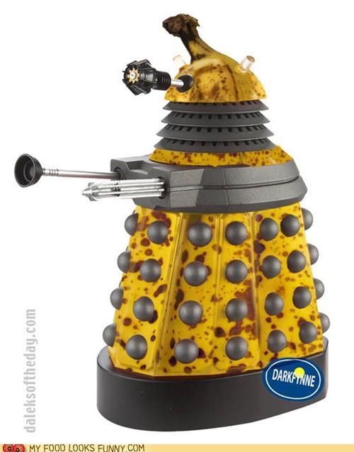 banana,dalek,doctor who