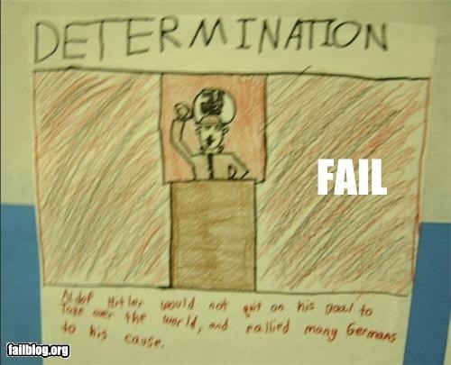 determination failboat Germany g rated hitler kids kids-drawing nazi - 4743407104