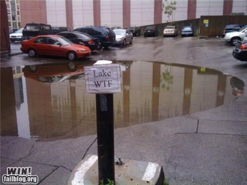 hacked irl lake parking lot wtf - 4743647744