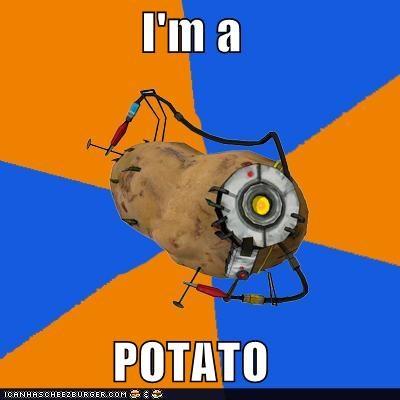 gladOS,Memes,potato