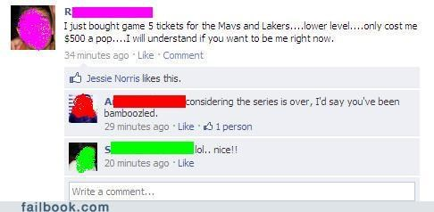 basketball Lakers Mavericks nba scam your friends are laughing at you