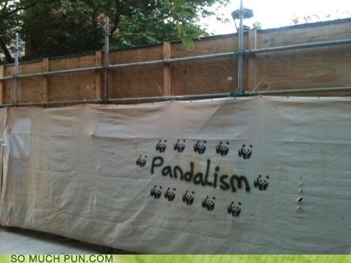 graffiti Hall of Fame literalism panda similar sounding vandalism - 4743924736