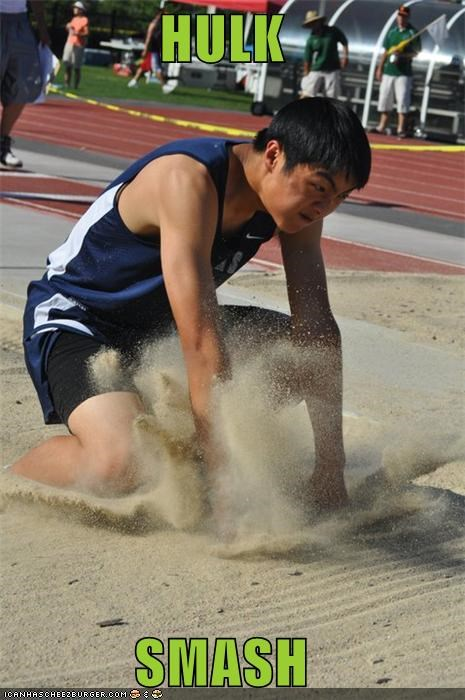 hulk jump smash Sportderps Track and Field - 4743924992