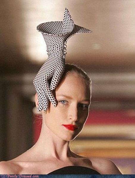 glove hat High Fashion