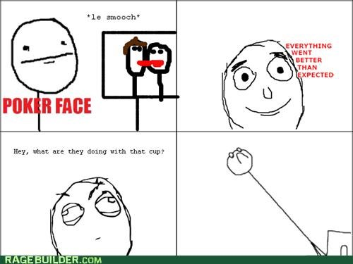 1 cup,2 girls,innocent,KISS,Rage Comics,smooch