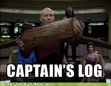 captain jean-luc picard literalism log picard Star Trek Twin Peaks - 4744837376