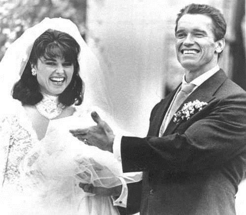 Arnold Schwarzenegger consider this a divorce End Of An Era Maria Shriver
