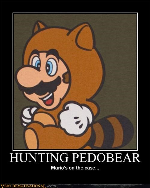 hunting mario pedobear Pure Awesome video games - 4745605120