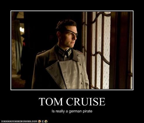 TOM CRUISE Is really a german pirate