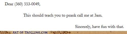 prank call revenge sweet