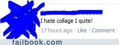 college facepalm spelling - 4745974528