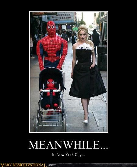 hilarious lindsay lohan new york Spider-Man wtf - 4746111744