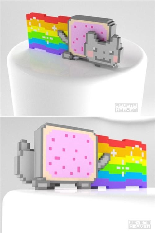 Leaky Interpipes Nyan Cat Pop Tart Cat PRguitarman - 4746288640