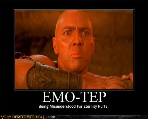 emo-tep hilarious misunderstood mummy